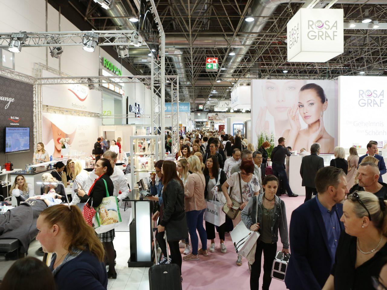 beauty dusselfdorf Międzynarodowe Targi Kosmetyczne 3